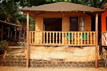 Tantra Cafe and Huts Patnem beach Beachfront Hut -