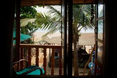 Tantra Cafe and Huts Patnem beach Coconut Beach Hut Bedroom View -