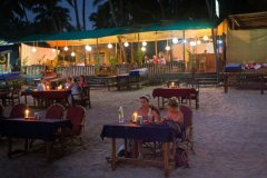 Titanic Holiday Home Restaurant View Palolem Beach South Goa