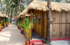 Titanic Holiday Home Partial Sea View Hut Palolem Beach South Goa