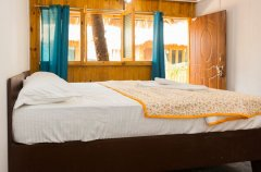 Titanic Holiday Home Partial Sea View Hut Bedroom Palolem Beach South Goa