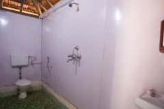 OM Shanti Resort, Patnem beach - Standard Beach Hut Bathroom -