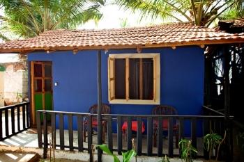 OM Shanti Resort, Patnem beach - Standard Beach Hut