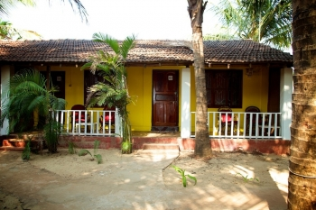 OM Shanti Resort, Patnem beach - AC Cottage -