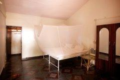OM Shanti Resort, Patnem beach - AC Cottage Bedroom -