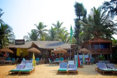 OM Shanti Resort, Patnem beach - Main -