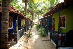 OM Shanti Resort, Patnem beach - Standard Beach Huts