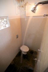 Colomb Bay Beach House - Bathroom of colomb bay beach house on colomb beach,Goa -