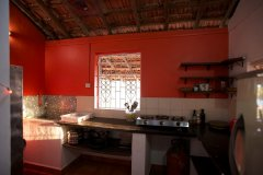 Colomb Bay Beach House - View of the kitchen of colomb bay beach house on colomb beach,Goa -