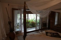 Riverview Villa Bedroom Rajbaga Beach South Goa.
