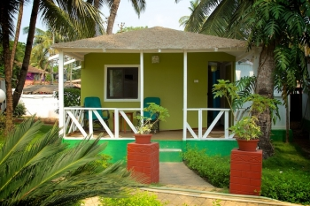 Palolem Beach Resort - AC Sea View Beach Hut  of palolem beach resort on palolem beach,Goa -