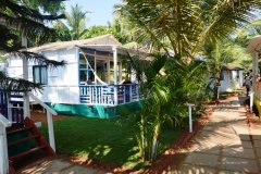 Cuba Patnem Beach Resort Deluxe AC Partial Sea View Beach Huts -