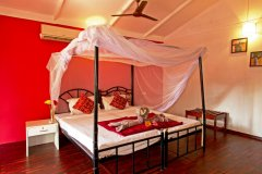 Cuba Patnem Beach Resort  Standard AC Garden View Beach Hut Bedroom -