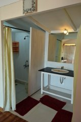 Cuba Patnem Beach Resort  Standard AC Garden View Beach Hut Bathroom -