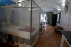 Cuba Patnem Beach Resort  Standard AC Family Hut Bedroom -
