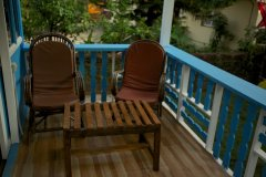 Cuba Patnem Beach Resort Standard AC Family Hut Balcony -