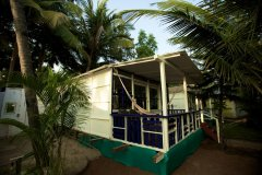 Cuba Patnem Beach Resort Standard AC Family Hut