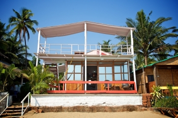 Cuba Patnem Beach Resort Deluxe AC Sea Facing Beach Hut -