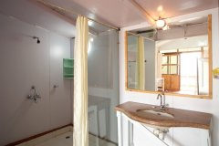 Cuba Patnem Beach Resort  Deluxe AC Sea Facing Beach Hut ensuite Bathroom -
