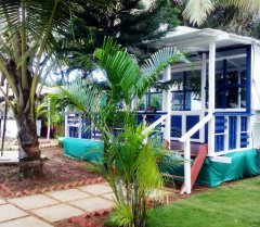 Cuba Patnem Beach Resort Deluxe AC Partial Sea View Beach Huts