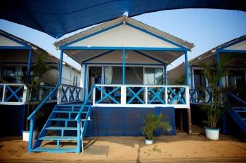 Cuba Agonda - Non-AC hut at Cuba Agonda on Agonda Beach,Goa