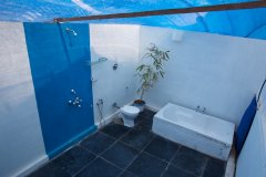 Cuba Agonda - Attached bathroom of Cuba Agonda on Agonda Beach,Goa -