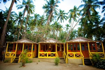 Cuba Palolem Premium Bungalows - Non AC Non Sea View Hut of Cuba Palolem on Palolem beach,Goa -