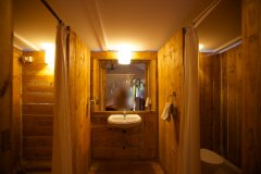Cuba Palolem Premium Bungalows - Bathroom view of Non AC Non Sea View of Cuba Palolem on Palolem beach,Goa -