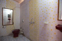 Cuba Palolem Standard  Bungalows - View of the bathroom of Non AC Sea Front Bungalow of Cuba Palolem on Palolem beach,Goa -
