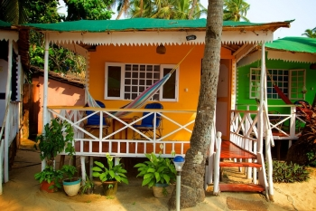 Cuba Palolem Standard Bungalows - Non AC Non Sea View Bungalow of Cuba Palolem on Palolem beach,Goa -
