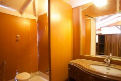 Cuba Palolem Premium Bungalows -Bathroom view of AC Sea Front Hut of Cuba Palolem on Palolem beach,Goa -