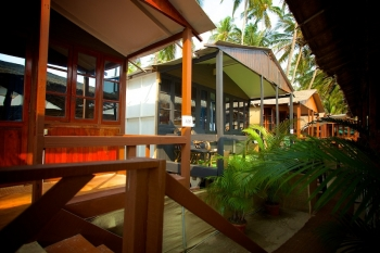 Cuba Palolem Premium Bungalows - AC Sea View Hut of Cuba Palolem on Palolem beach,Goa -