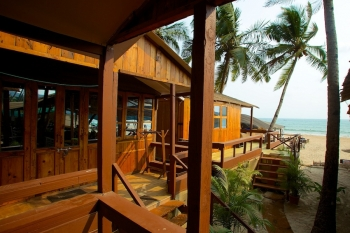 Cuba Palolem Premium Bungalow - AC Sea View Hut of Cuba Palolem on Palolem beach,Goa -