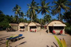 Hangout Agonda - Beachfront Huts of Hangout Agonda on Agonda Beach,Goa. -