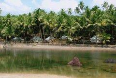 Blue Lagoon Cola Beach_Beach Front Rajasthani Tents -