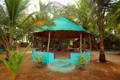 Tutti Garden Bungalows - Agonda Beach, Goa - Chill out Space -