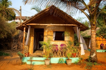 Tutti Garden Bungalows - Agonda Beach, Goa - Double Room Bungalow -