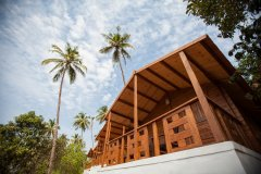 Blue Planet Cafe and Eco Resort - Luxury Cottage of Blue Planet Cafe and Eco Resort on Agonda Beach,Goa -