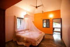 Home Patnem - Bedroom of Main House room of  Home Patnem on Patnem Beach,Goa -