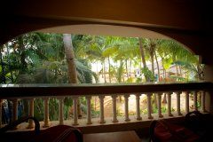 Home Patnem - View from the balcony of Main House at Home Patnem on Patnem Beach,Goa