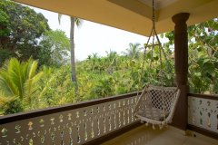 Barbara's Holiday Apartments, Palolem beach, Goa - Two Bedroom Apartment - Balcony -