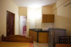 Barbara's Holiday Apartments, Palolem beach, Goa - Studio Apartment Kitchen -