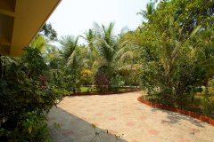 Barbara's Holiday Apartments, Palolem beach, Goa - Studio Apartment Balcony VIew -
