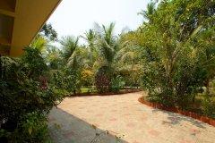 Barbara's Holiday Apartments, Palolem beach, Goa - Studio Apartment Balcony VIew