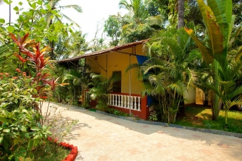 Barbara's Holiday Apartments, Palolem beach, Goa - Studio Cottage