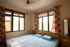 Barbara's Holiday Apartments, Palolem beach, Goa - Two Bedroom Apartment - Bedroom1 -