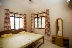 Barbara's Holiday Apartments, Palolem beach, Goa - Two Bedroom Apartment - Bedroom2 -