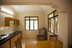 Barbara's Holiday Apartments, Palolem beach, Goa - Two Bedroom Apartment - Kitchen -