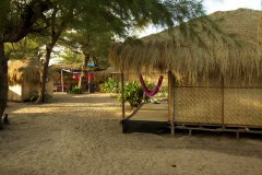 Bamboo Yoga Retreat Garden View Bungalow Patnem beach Goa.