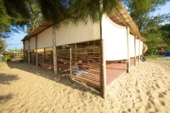 Bamboo Yoga Retreat Ocean View Yoga Shala Patnem beach Goa.
